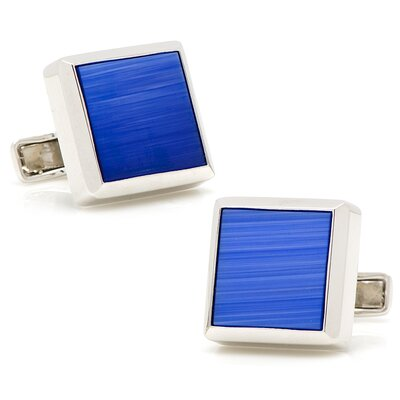 Cufflinks Inc. Sterling Silver Catseye Cufflinks
