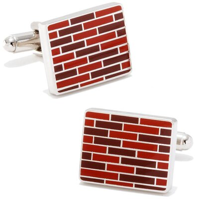 Ox and Bull Bricks Cufflinks