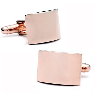 Ox and Bull Curved Cufflinks