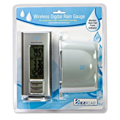 Headwind Consumer Products Wireless Digital Rain Gauge