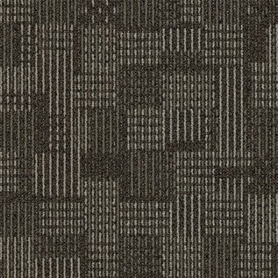 "Interface Stroll Boxwood Court Square 19.69"" x 19.69"" Carpet Tile in Dimension"