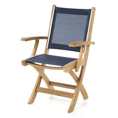 St.Tropez Folding Dining Arm Chair