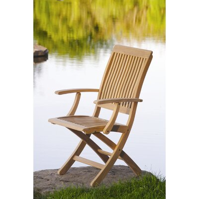 Kingsley Bate Monterey Folding Arm Chair
