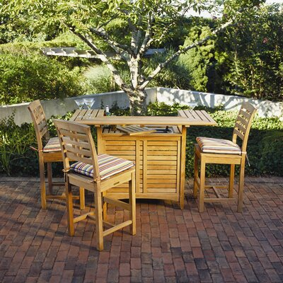 Kingsley Bate Outdoor Teak Party Bar