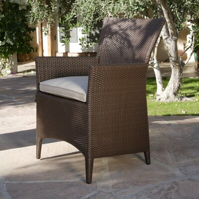Kingsley Bate Vieques Dining Arm Chair with Cushion
