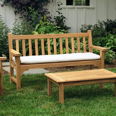 Kingsley Bate Cushion for Chippendale 4' Teak Bench