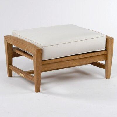 Kingsley Bate Amalfi Ottoman with Cushion