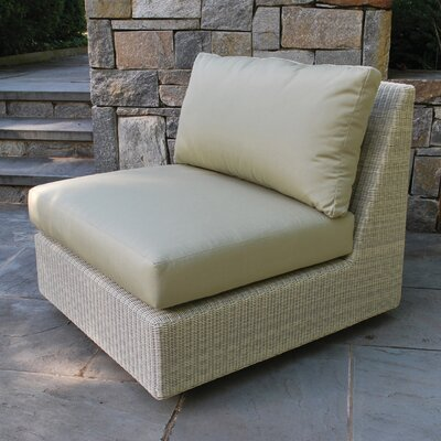 Westport Sectional Deep Seating Armless Chair with Cushion