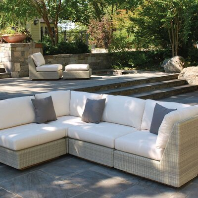 Kingsley Bate Westport Sectional Deep Seating Group with Cushions