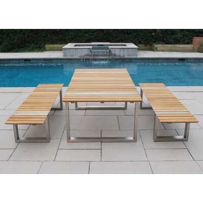 Kingsley Bate Boca 3 Piece Dining Set
