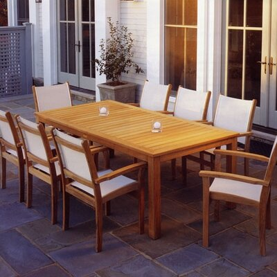 Kingsley Bate St. Tropez 9 Piece Dining Set