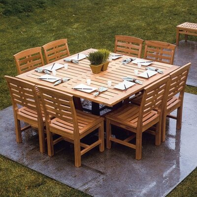 Kingsley Bate Mandalay 9 Piece Dining Set