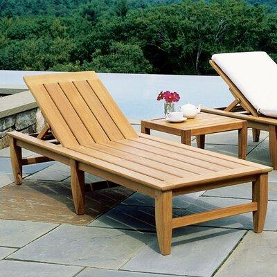 Kingsley bate amalfi poolside chaise allmodern for Amalfi chaise lounge