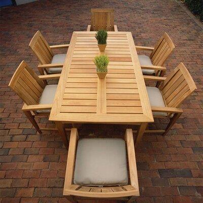 Kingsley Bate Amalfi 7 Piece Dining Set