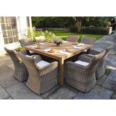 Kingsley Bate Wainscott 9 Piece Dining Set