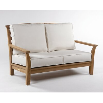 Kingsley Bate Mandalay Deep Seating Settee with Cushions