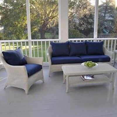 Kingsley Bate Cape Cod Deep Seating Lounge Chair with Cushion