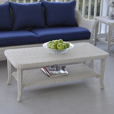 Kingsley Bate Cape Cod Rectangular Coffee Table Glass Top