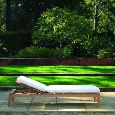 Kingsley Bate Mendocino Adjustable Chaise Lounge