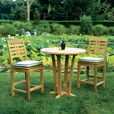 Kingsley Bate Mandalay 3 Piece Dining Set