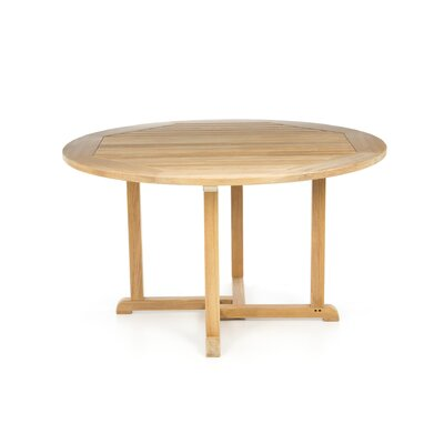 "Kingsley Bate Essex 50"" Teak Dining Table"