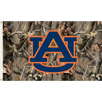 NCAA Realtree Camo Traditional Flag