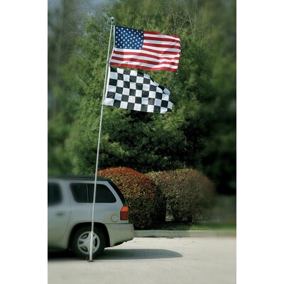BSI Products Tailgate Telescoping Flagpole