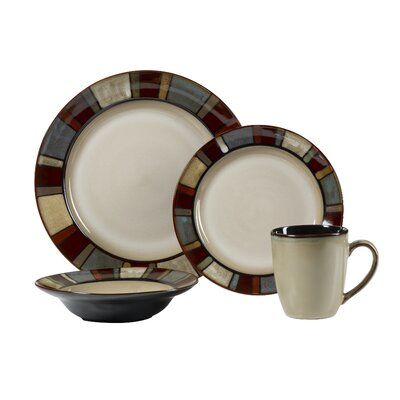 Nile 16 Piece Dinnerware Set