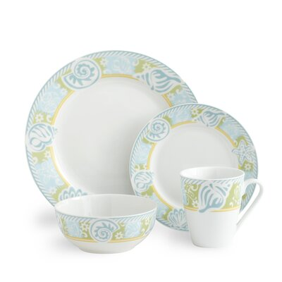 Pfaltzgraff Seaside 64 Piece Dinnerware Set