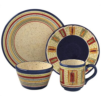 Sedona 16 Piece Dinnerware Set