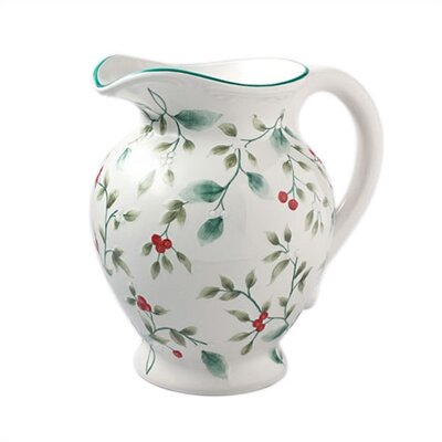 Winterberry Sculpted Pitcher
