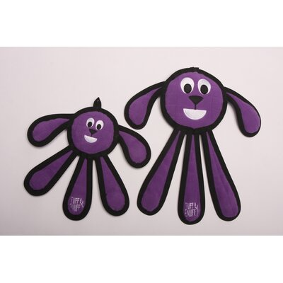 Tuff Enuff Dangles Puppy Dog Toy in Purple