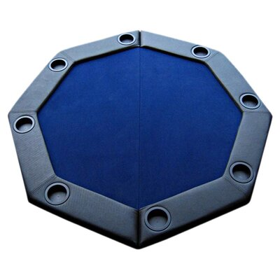 JP Commerce Padded Octagon Folding Poker Table Top