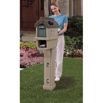 Step2 Timberline Plus Post Mounted Mailbox