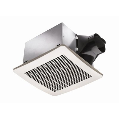 130 CFM Energy Star Exhaust Bathroom Fan with Humidity Sensor