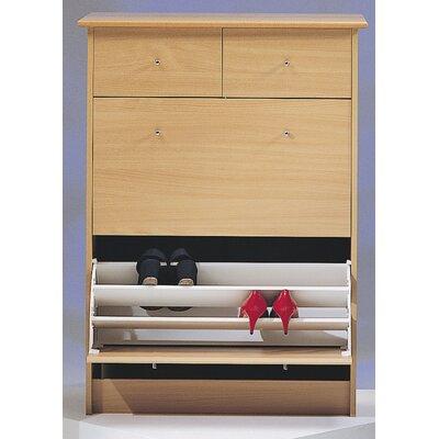 Wildon Home ® Nightline Shoe Cabinet