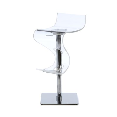 LumiSource Viva Barstool in Clear
