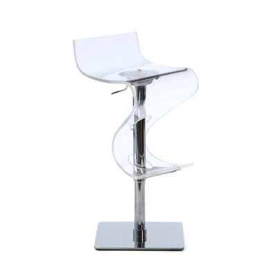 "LumiSource Viva 24"" Adjustable Bar Stool"
