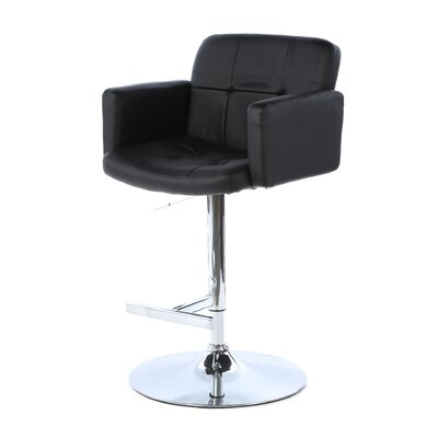 "LumiSource Stout 24"" Adjustable Bar Stool"