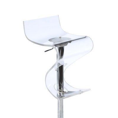 "LumiSource 24"" Adjustable Bar Stool"