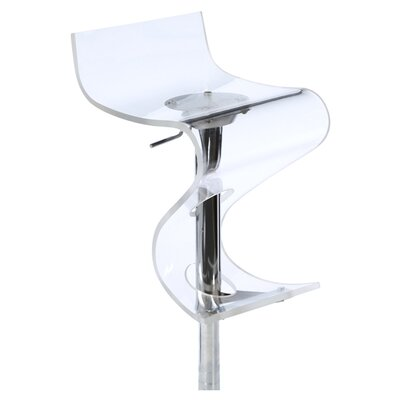 "LumiSource 24"" Adjustable Bar Stool"