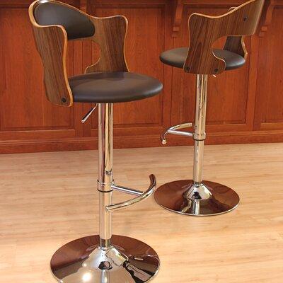 Lumisource Cello Adjustable Height Swivel Bar Stool