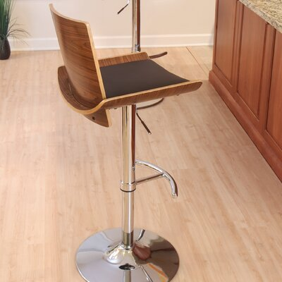 LumiSource Vittorio Adjustable Swivel Bar Stool