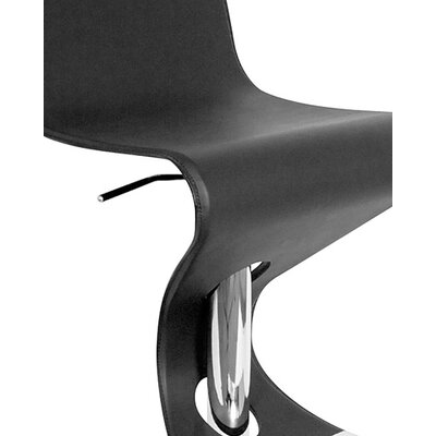 "LumiSource Viva 28"" Bar Stool in Black"