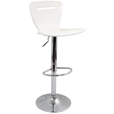 "LumiSource H2 23"" Barstool in White"
