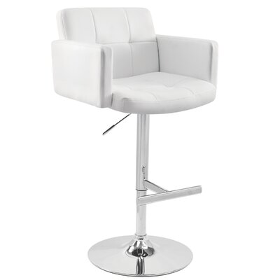 Stout Barstool in White