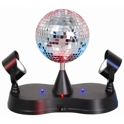 Lumisource Rotating Disco Ball 9 Quot H Table Lamp Amp Reviews