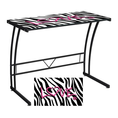 LumiSource Zebra Love Expression Sigma Writing Desk