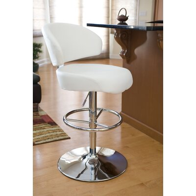 "LumiSource Regent 28"" Adjustable Swivel Bar Stool"