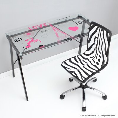 Love In Paris Office Writing Desk